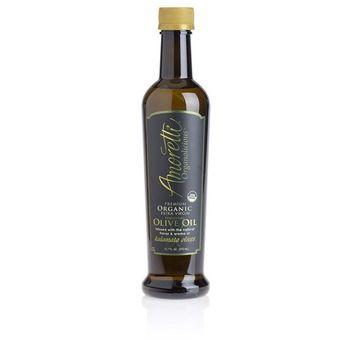 Amoretti Organic Extra Virgin Finishing Olive Oil, 12.7 Fluid Ounce