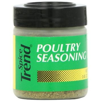 Spice Trend Poultry Seasoning, 0.45-Ounce (Pack of 6)
