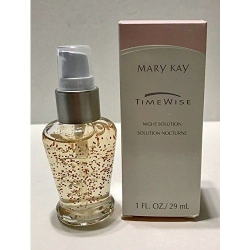 Mary Kay Timewise Night Solution Dry To Oily Skin 1 Fl Oz / 29 Ml