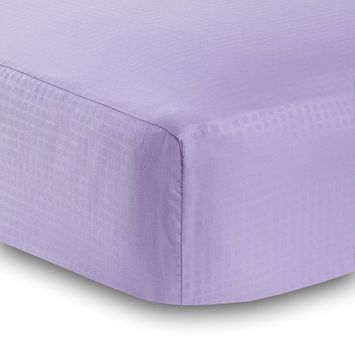 BreathableBaby Deluxe Microfiber Fitted Crib Sheet - Solid Pink