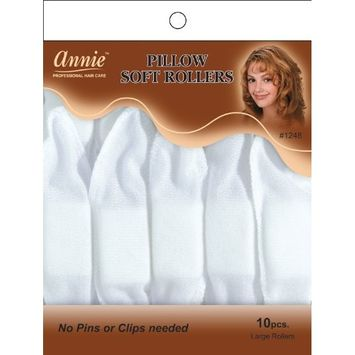 pillow soft roller hair rollers culers color white