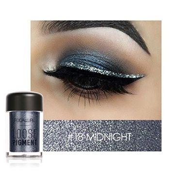 DZT1968 Focallure 12 Colors Eye Shadow Makeup Pearl Metallic Eyeshadow Palette Makeup Tools 48X27mm