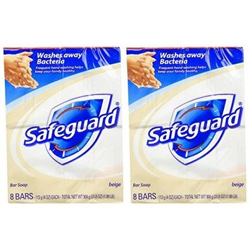 Safeguard Antibacterial Bar Soap - 4 oz - 8 ct - 2 pk