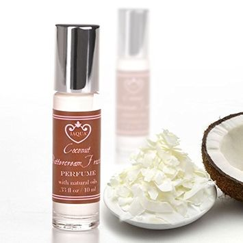 Jaqua Beauty Natural Perfume Oil | Coconut Buttercream Frosting Roll-On Perfume Oil