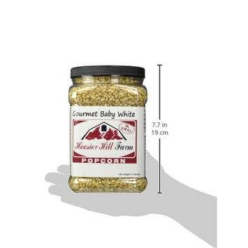 Hoosier Hill Farm Baby White, Popcorn Lovers 4 lb. Jar.