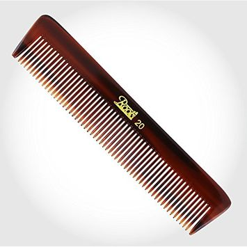 Roots Brown Pocket Comb for men boys hair care comb round tip