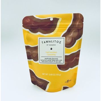 Hard candy filled with chili, lime and sea salt. 2 pack, Tantalizing Tamarind [Tamarind]