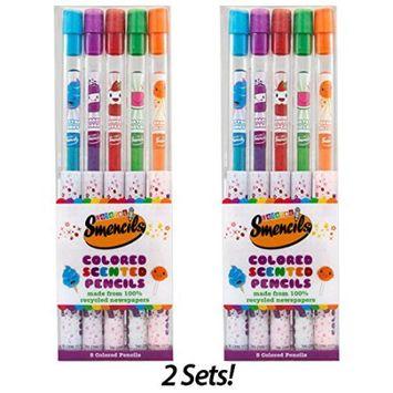 Scentco Colored Smencils 5-Pack (Set of 2)