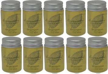 Ecossential Elements Shampoo Lot of 1.1oz Bottles. Total of 11oz (Pack of 10)