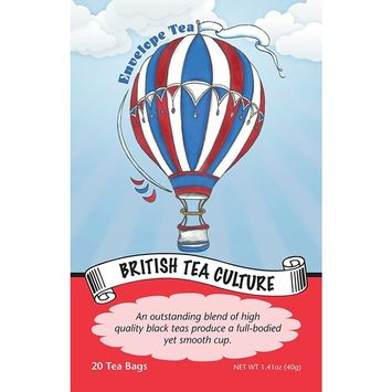 Envelope Tea BRITISH TEA CULTURE Gourmet Black Tea Bags