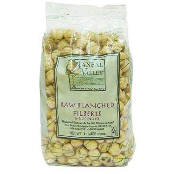 Jansal Valley Blanched Hazelnuts, 1 Pound