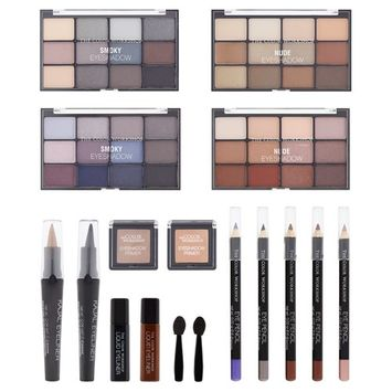 The Color Workshop Eye Obsession Makeup Collection, 60 pc
