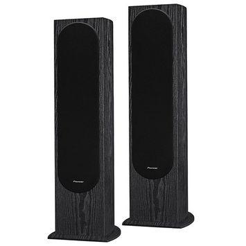 Pioneer Andrew Jones Designed Floorstanding Loudspeaker Audio Bundle (2-Pack) SP-FS52