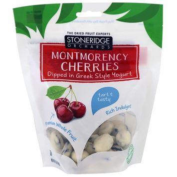 Stoneridge Orchards, Montmorency Cherries Dipped in Greek Style Yogurt, 5 oz (142 g) [Flavor : Cherry]