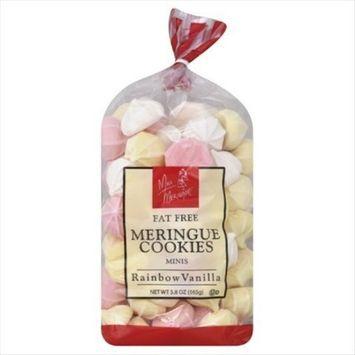 Miss Meringue Meringue Cookies Minis Fat Free Rainbow Vanilla -- 5.8 oz