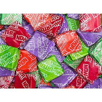 Now & Later Original Taffy Chews Candy, Assorted, 5 Pound Bulk Candy Bag [Assorted]