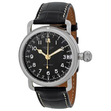 Longines Heritage Automatic Black Dial Stainless Steel Mens Watch L27784530