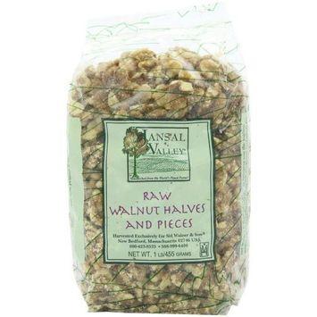 Jansal Valley Walnut Halves & Pieces, 1 Pound
