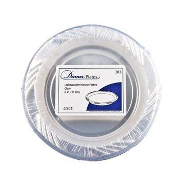 Blue Sky 40 Count Heavyweight Plastic Plates, 7