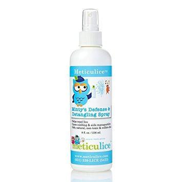 Meticulice Head Lice Prevention Treatment Defense & Detangling Conditioning Spray 16oz. ~ Prevención de Piojos de defensa y del spray desenredante 16 oz