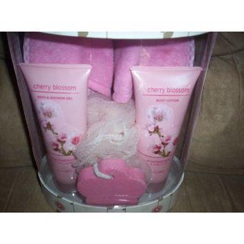 Scentations Cherry Blossom Bath Set/Cherry Blossom Shower Gel/Cherry Lotion/Cherry Gift Set