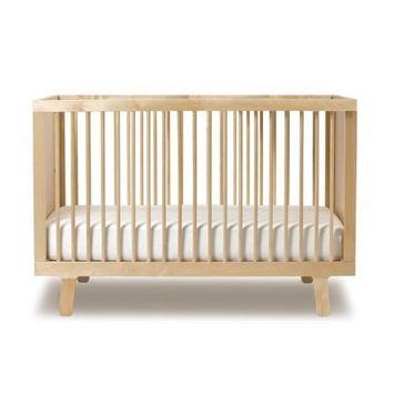 Oeuf Sparrow Crib, Birch