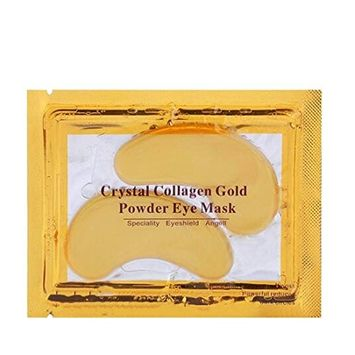 10pcs Gold Crystal Collagen Eye Mask Eye Patches Skin Care Beauty Product Women