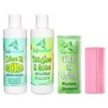 Safe Solutions Lice R Gone Nontoxic Shampoo, 8 oz. bottle