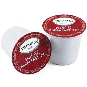 Twinings of London English Breakfast Tea K-Cups for Keurig, 24 Count [English Breakfast]