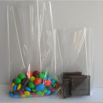 6 x 8 inch (1.2mil) Clear Flat Cello / Cellophane Treat Bag Gift Basket Supplies Xmas Gift Bag