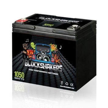 Black 12V 35AH 1050 Watts M6/T6 High Current Battery replaces Kinetik HC800