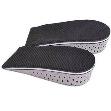Sealike Breathable Memory Foam Height Increase Elevator Shoes Insole Heels Inserts for Men and Women with Stylus (0.91 inch)