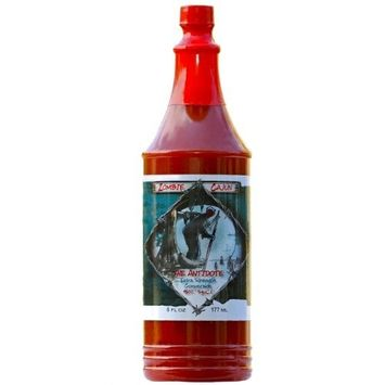 Zombie Cajun Zombie Cajun The Antidote Hot Sauce, Bottle of Louisiana Spice Cayenne and Habanero Pepper Recipe, 4 pack 6oz [4 pack 6oz]