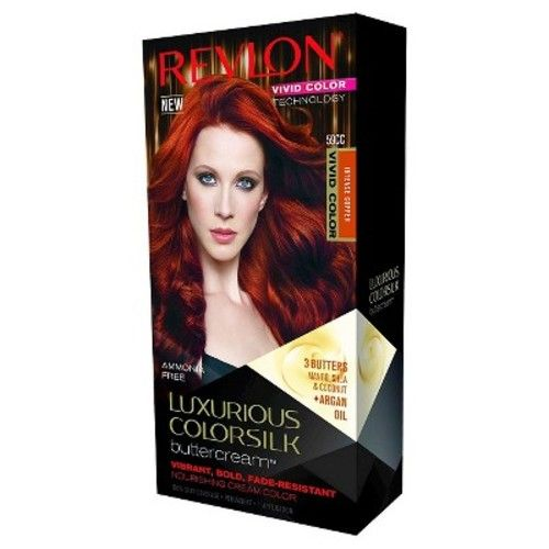 Revlon® Luxurious Colorsilk Buttercream™ Haircolor Vivid Colors Collection - 59CC Vivid Intense Copper - 7.3 oz