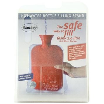 Fashy Hot Water Bottle Filling Stand - Made in Germany