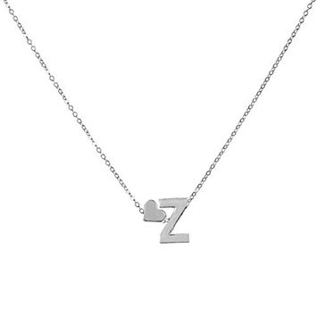 Necklace, Hatop Fashion Women Gift 26 English Letter Name Chain Pendant Necklaces Jewelry