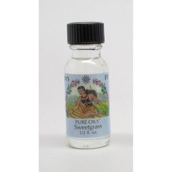 Sweetgrass - Sun's Eye Pure Oils - 1/2 Ounce Bottle