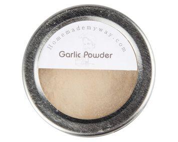 Homemade My Way Garlic Powder 2.8 Oz in Magnetic Spice Tin
