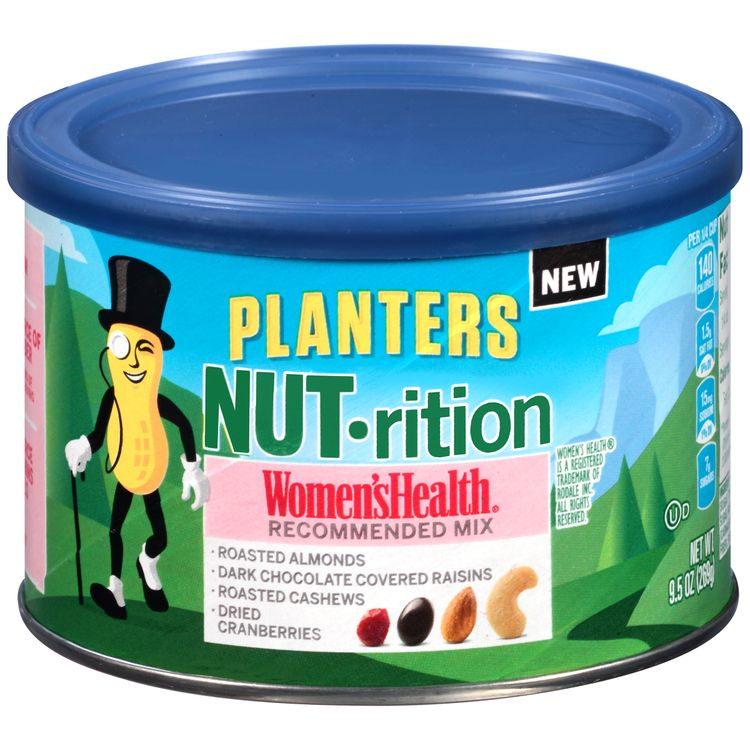 Planters NUT-rition Womens Health Recommended Mix 9.5 oz Canister
