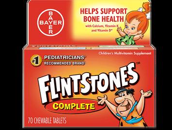 Flintstones™ Complete Chewable Multivitamins