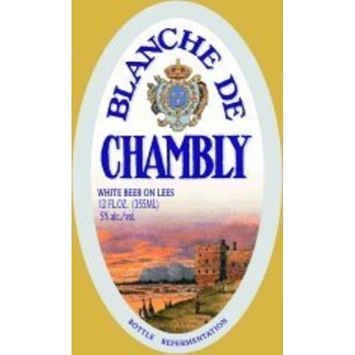 Unibroue Blanche De Chambly Beer 750ML