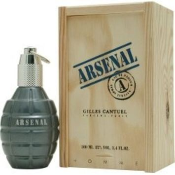Arsenal Blue FOR MEN by Gilles Cantuel - 3.4 oz EDT Spray