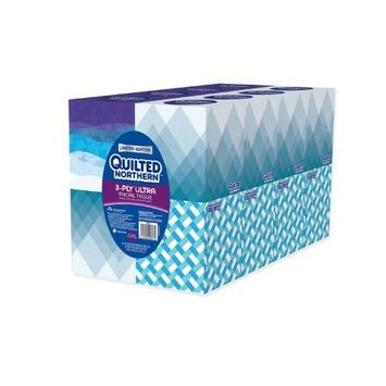 Quilted Northern 3-PLY Ultra Facial Tissue (16 Cube Boxes)