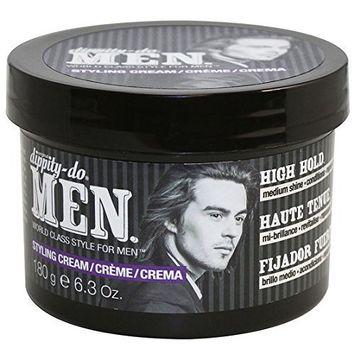 Dippity Do for Men, Styling Cream High Hold, 6.3 Oz.
