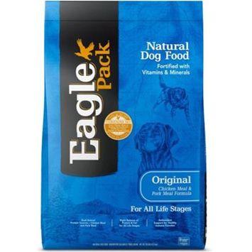 Eagle Pack Natural Chicken and Pork Meal Formula Dry Dog Food [Options : 15-lb]