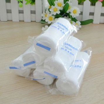 Lolicute Gauze Bandage Rolls, 12 Rolls Wound Bandages and Dressings Gauze Bandage Medical Grade Stretch Bandage Wrapping for Wounds Care & Stretch Wrist Wraps 5 * 450cm