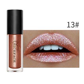 Hometom Long Lasting Lipstick Waterproof Matte Liquid Gloss Lip Liner Cosmetics Set New (A)