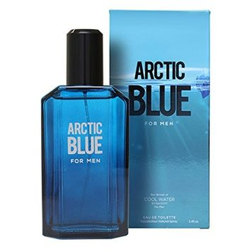 Arctic Blue by Mirage Brand Fragrances inspired by COOL WATER BY DAVIDOFF FOR MEN