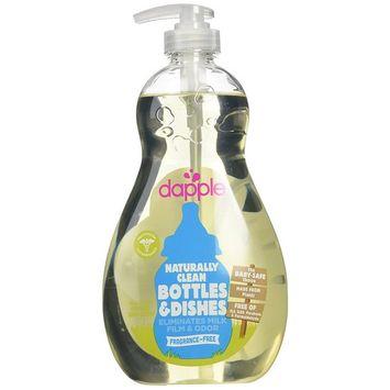 Dapple Baby Bottle & Dish Liquid - Fragrance Free - 16.9 oz - 2 pk