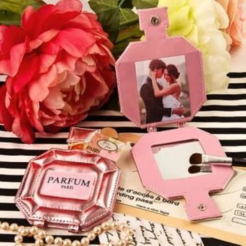 Paris themed Parfum pocket mirror and Picture holder pack of 75